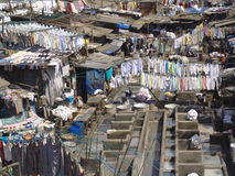 Washermen's Colony Mumbai Royalty Free Stock Image