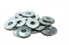 Washers.  Royalty Free Stock Photography