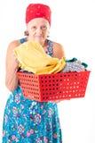 washerwoman stock fotografie