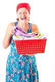washerwoman stock foto