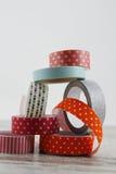Washi bandrullar Royaltyfri Fotografi