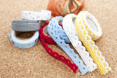 Washi tape rolls Royalty Free Stock Images