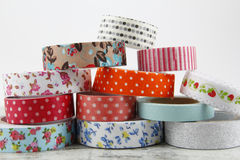 Washi tape rolls Royalty Free Stock Photos