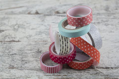 Washi tape rolls Royalty Free Stock Photography