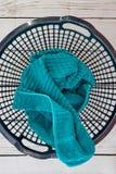 Washing Basket. A studio photo of a washing basket Stock Photo