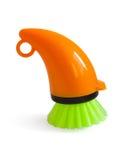 Washing brush dish Royalty Free Stock Image