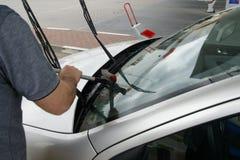 Washing car Stock Photo