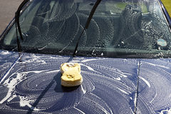 Free Washing Car Royalty Free Stock Images - 24375849