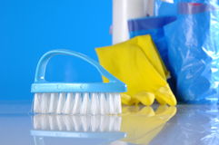Washing, cleaning, saturated version Royalty Free Stock Photography