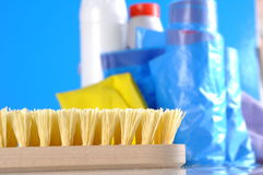 Washing, cleaning, saturated version Royalty Free Stock Images