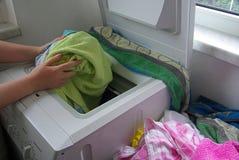Washing clothes 01 Royalty Free Stock Photo
