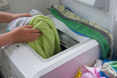 Washing clothes 03 Royalty Free Stock Image