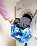 Washing clothes Stock Photos
