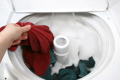 Washing clothes Stock Photography
