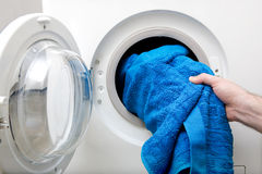 Washing Clothes Royalty Free Stock Images