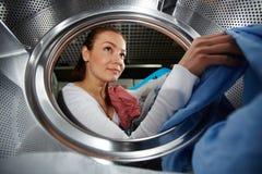Washing clothes Royalty Free Stock Image