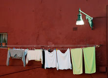 Washing clothes Royalty Free Stock Photos