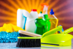 Washing concept on light background Stock Image