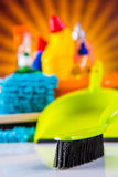 Washing concept on light background Stock Photo