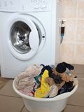 Washing day Stock Image