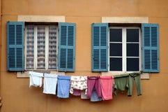 Washing day Stock Images