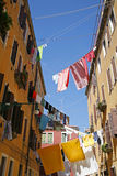 Washing day Venice. Royalty Free Stock Photography