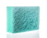 Washing dishes sponge Stock Image