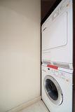Washing and drying machines in interior Stock Photography