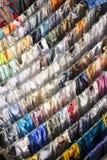 Washing drying at Mahalaxmi Ghat. Stock Image