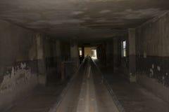 Washing facilities in Auschwitz II Birkenau Royalty Free Stock Photo