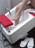 Washing Feet Royalty Free Stock Photo