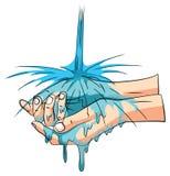 Washing Hand Stock Image
