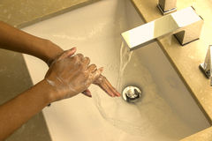 Washing hand Stock Photography