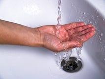Washing hands Stock Image
