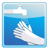Washing hands Royalty Free Stock Photography