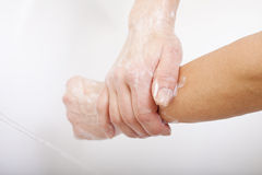 Washing hands. Royalty Free Stock Images
