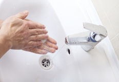 Washing hands. Royalty Free Stock Image