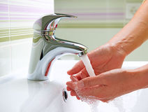 Washing Hands Stock Photos