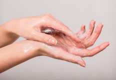 Free Washing Hands Royalty Free Stock Images - 53387349