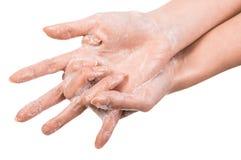 Free Washing Hands Royalty Free Stock Image - 53387566