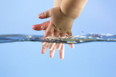Washing hands stock images