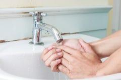 Washing Hands. Royalty Free Stock Photo