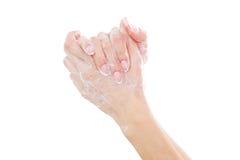 Washing hands. Royalty Free Stock Image