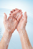Clean Washing Hands Hygiene royalty free stock photography
