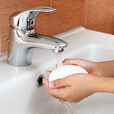 Washing of hands Royalty Free Stock Image