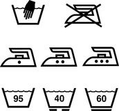 Washing indicators. In  format Royalty Free Stock Photos