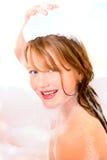 Washing kid Stock Photo