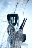 Washing kitchen ware Royalty Free Stock Photography