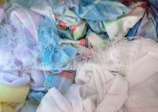 Washing Laundry Stock Photography