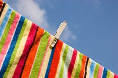 Washing line. Stock Images